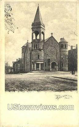 New Brunswick, New Jersey, NJ Postcard