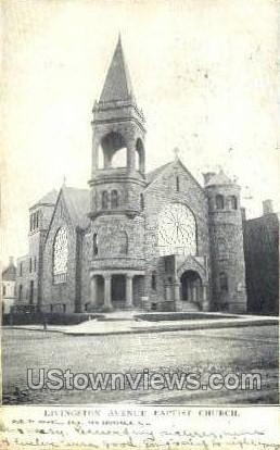 Livingston Avenue Church - New Brunswick, New Jersey NJ Postcard