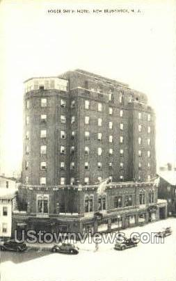 Roger Smith Hotel  - New Brunswick, New Jersey NJ Postcard