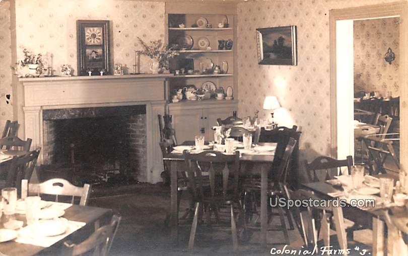 Colonial Farms - New Brunswick, New Jersey NJ Postcard