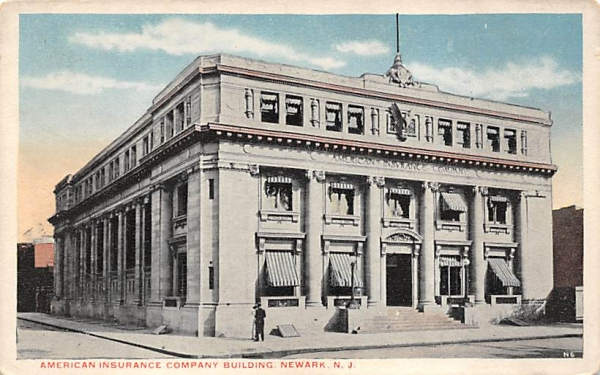 American Insurance Company Building Newark, New Jersey Postcard