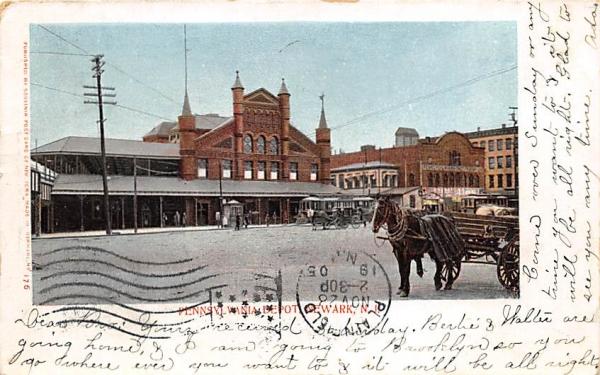 High School, Branch Brook Park Newark, New Jersey Postcard