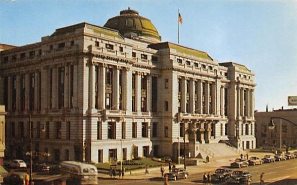 Newark City Hall New Jersey Postcard