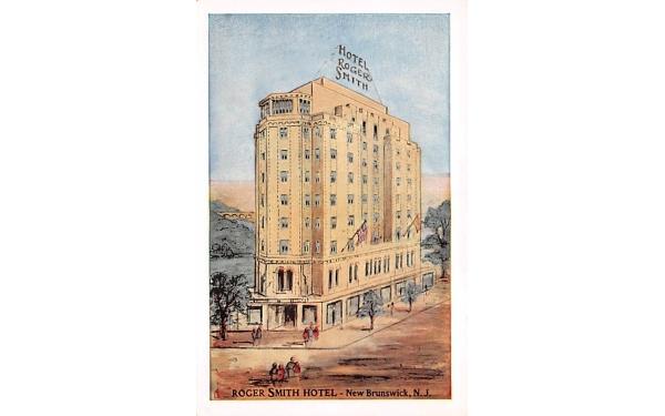 Roger Smith Hotel New Brunswick, New Jersey Postcard