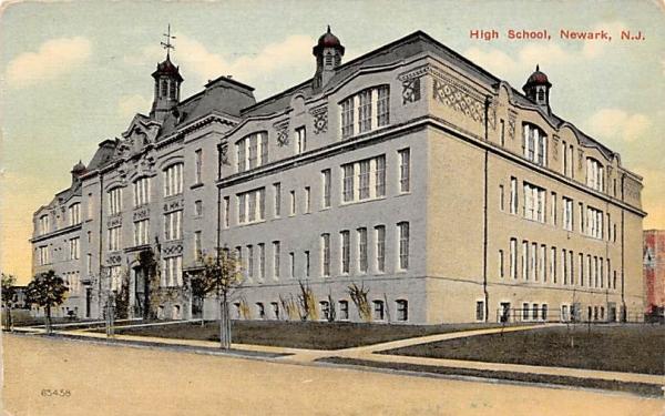 High School Newark, New Jersey Postcard