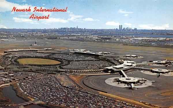 Newark International Airport New Jersey Postcard