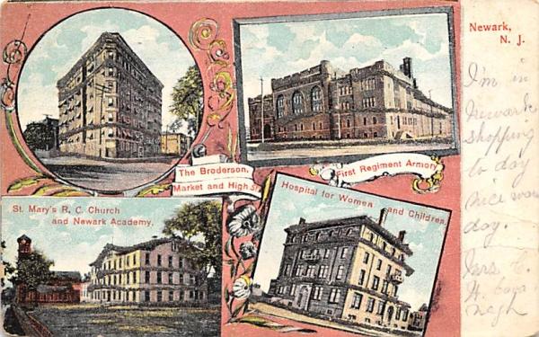 Newark New Jersey Postcard