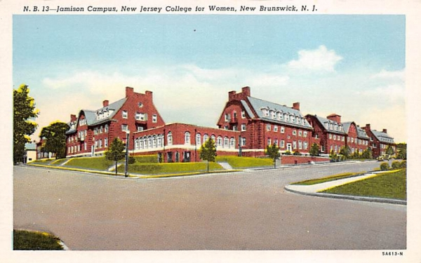 Jamison Campus, New Jersey College for Women Postcard