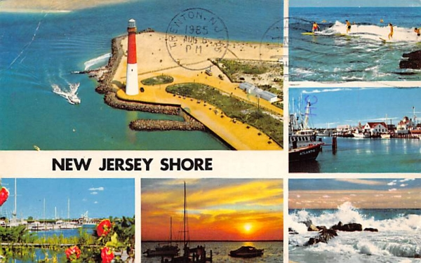 New Jersey Shore Postcard