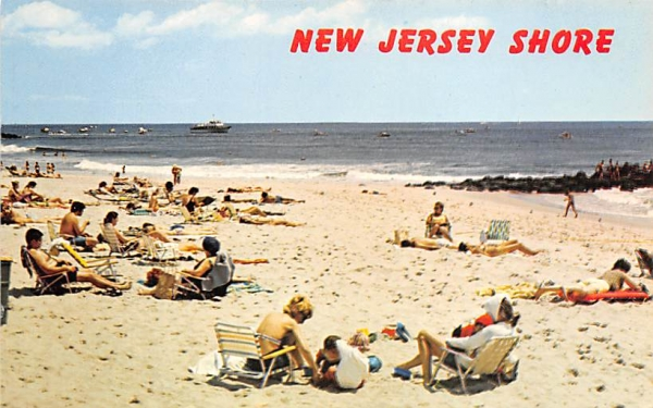 Sun, Sand, and Sea New Jersey Shore Postcards, New Jersey