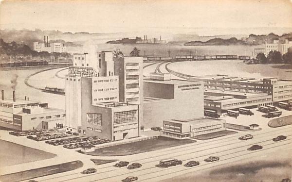 Eastern Home of Anheuser-Busch, INC. Newark, New Jersey Postcard