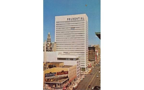 Prudential Insurance Building Newark, New Jersey Postcard