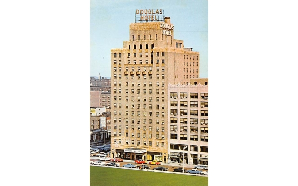 Hotel Douglas Newark, New Jersey Postcard