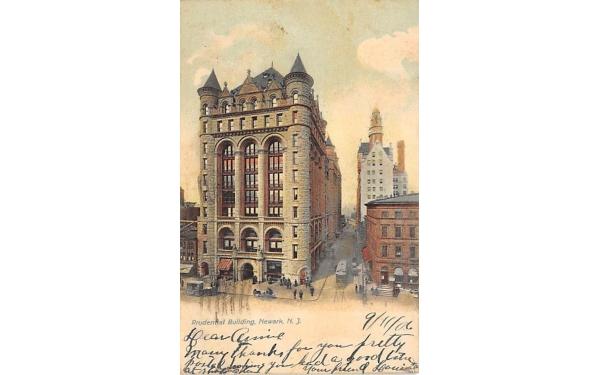 Prudential Building Newark, New Jersey Postcard
