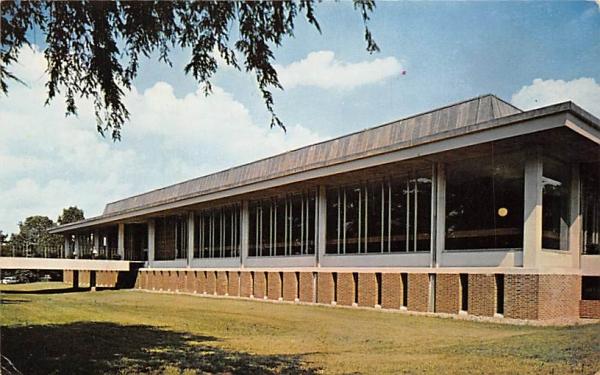 Library-Study Center Douglass College New Brunswick, New Jersey Postcard