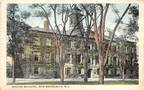 Queens Building New Brunswick, New Jersey Postcard
