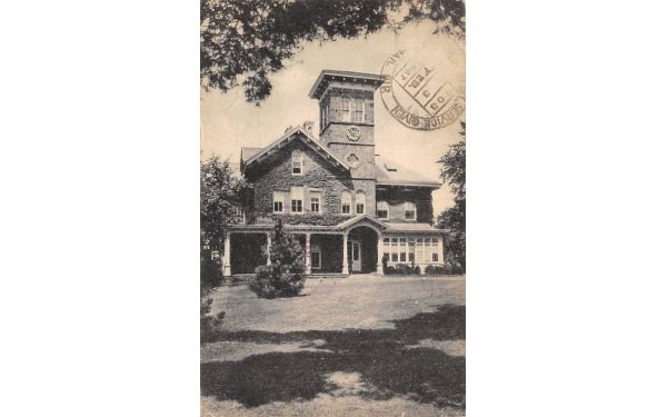 College Hall, New Jersey College for Women Postcard