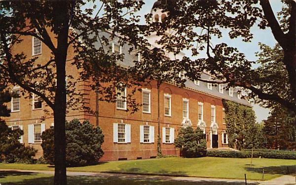 Gymnasium, Rutger's University New Brunswick, New Jersey Postcard