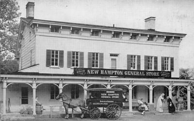 The Original New Hampton General Store New Jersey Postcard