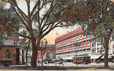 Broad Street Newark, New Jersey Postcard