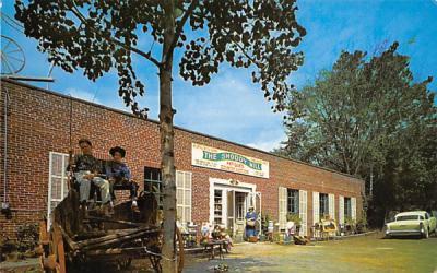 The Old Shoddy Mill New Hampton, New Jersey Postcard