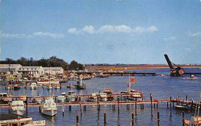 A familiar scene along the New Jersey coast Postcard