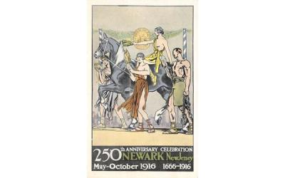 250th Anniversary Celebration Newark, New Jersey Postcard