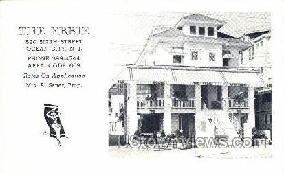 The Ebbie - Ocean City, New Jersey NJ Postcard