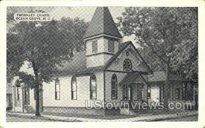Thornley Chapel - Ocean Grove, New Jersey NJ Postcard