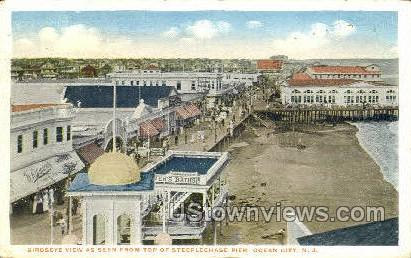 Steeplechase Pier - Ocean City, New Jersey NJ Postcard