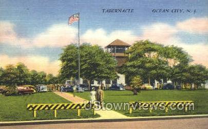 Tabernacle - Ocean City, New Jersey NJ Postcard