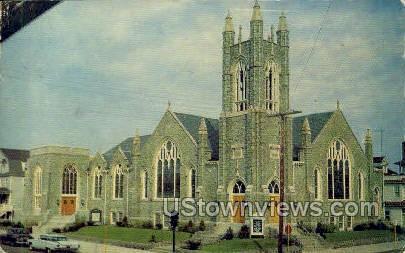 First Methodist Church  - Ocean City, New Jersey NJ Postcard