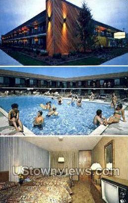 Harris House Motor Inn - Ocean City, New Jersey NJ Postcard