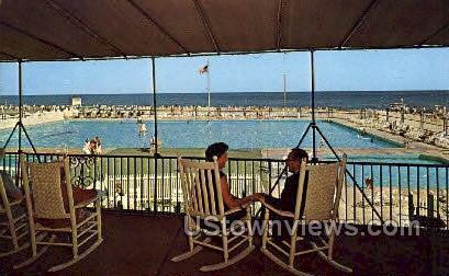 The Flanders - Ocean City, New Jersey NJ Postcard