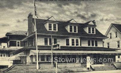 Plymouth Inn - Ocean City, New Jersey NJ Postcard