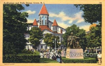 The Auditorium - Ocean Grove, New Jersey NJ Postcard
