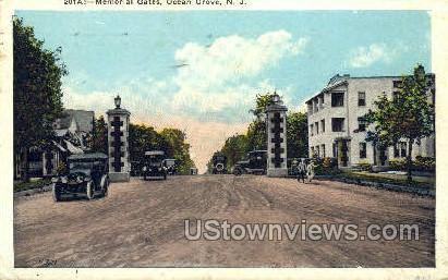 Memorial Gate  - Ocean Grove, New Jersey NJ Postcard