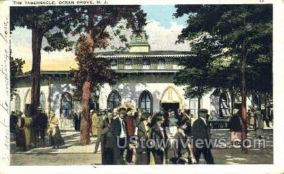 Tabernacle - Ocean Grove, New Jersey NJ Postcard