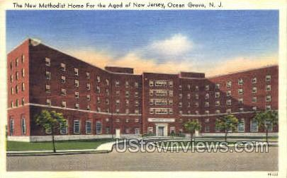 Methodist Home For The Aged  - Ocean Grove, New Jersey NJ Postcard