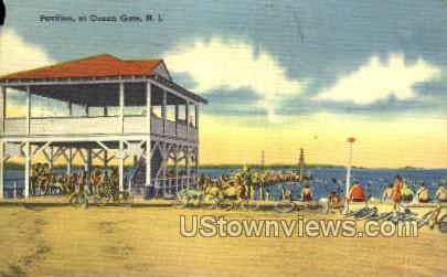 Pavilion - Ocean Grove, New Jersey NJ Postcard
