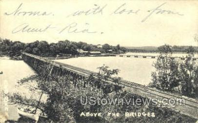 Bridges - Ocean Grove, New Jersey NJ Postcard