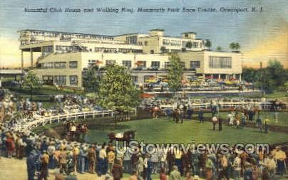 Club House  - Ocean Grove, New Jersey NJ Postcard