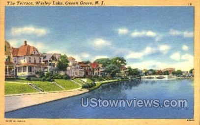 The Terrace - Ocean Grove, New Jersey NJ Postcard