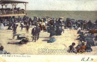 At The Height Of The Season - Ocean Grove, New Jersey NJ Postcard