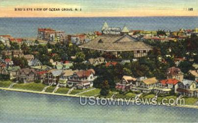 Ocean Grove, New Jersey, NJ Postcard