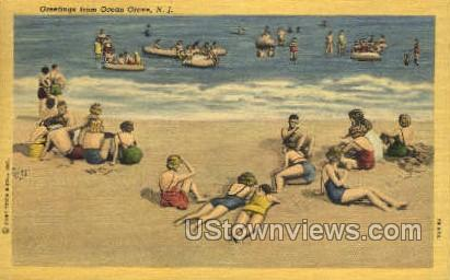 Greetings From  - Ocean Grove, New Jersey NJ Postcard