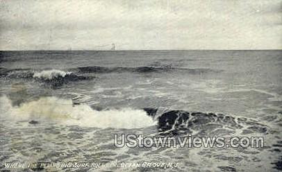 Ocean - Ocean Grove, New Jersey NJ Postcard