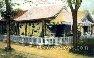 Tent Dwelling - Ocean Grove, New Jersey NJ Postcard