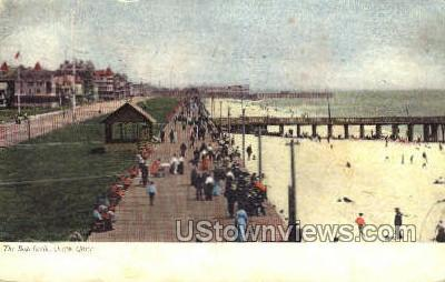 Boardwalk - Ocean Grove, New Jersey NJ Postcard