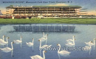 Monmouth Park  - Ocean Grove, New Jersey NJ Postcard